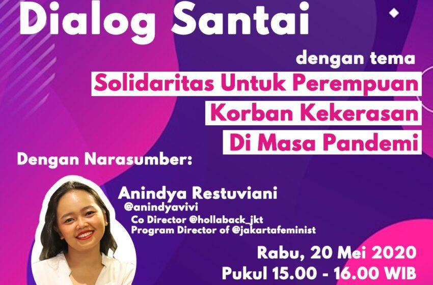 Solidaritas bagi Perempuan Korban Kekerasan di Tengah Pandemi