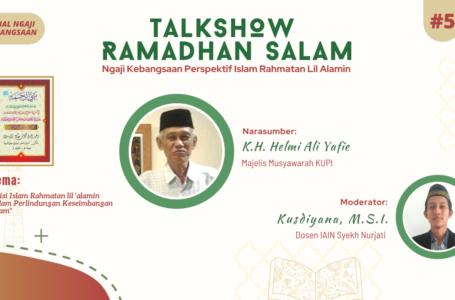 Perlindungan Keseimbangan Alam sebagai Visi Islam Rahmatan Lil Alamin